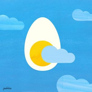 early style egg