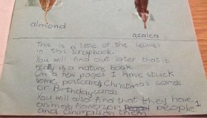 morna's scrapbook age 7