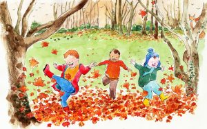 autumn leaves by Gerry Daly