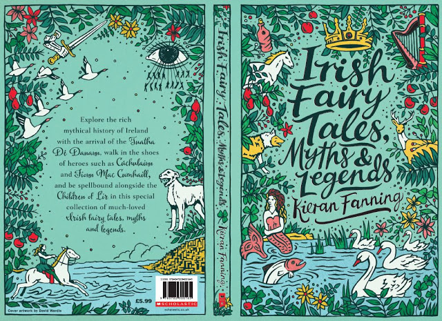 irish fairy tales cover by david wardle