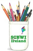 SCBWI Ireland pencil pot
