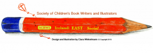 SCBWI Ireland East pencil banner