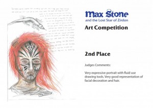 Max Stone art competition